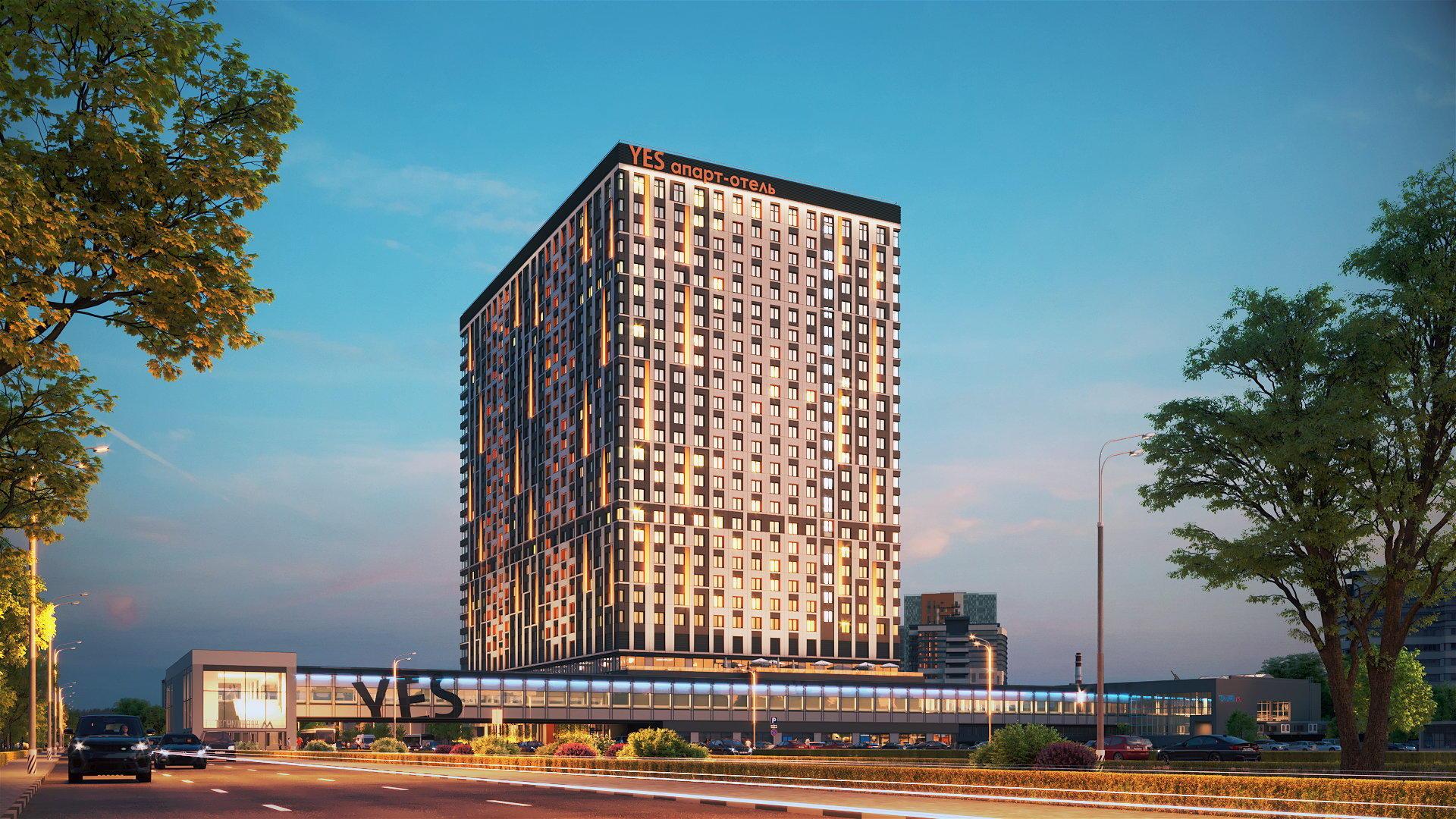 Апарт-отель YE'S Технопарк
