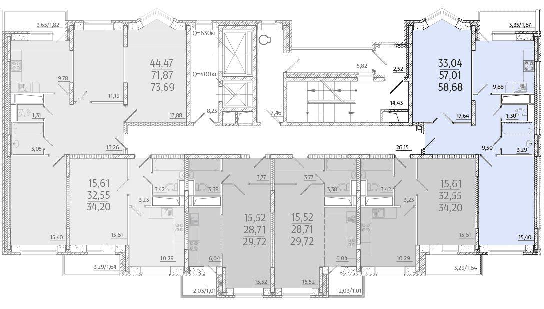 Планировки корпус 29