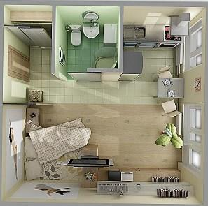 Малогабаритные квартиры популярны у небогатых арендаторов