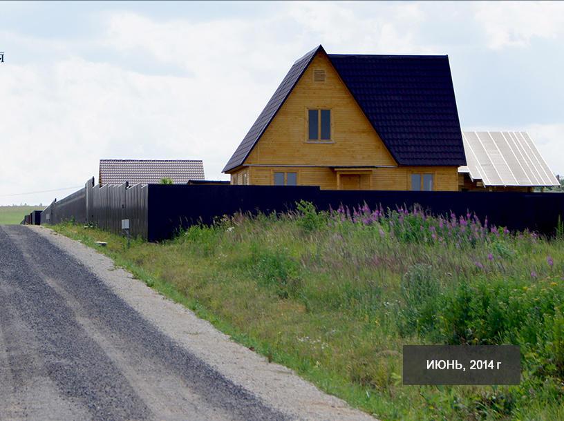 Коттеджный посёлок  «Заповедный берег 2» по адресу Московская обл, Серпуховский р-н, Шахлово д в 65км от МКАД