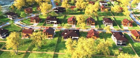 Коттеджный посёлок  «Вилла Фортуна» по адресу Московская обл, Наро-Фоминский р-н, Рогозинино д в 20.2км от МКАД предложения по цене от 9 980 000 руб.
