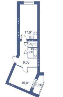 Планировки 3 очередь - корпус 1.1 и 1.2